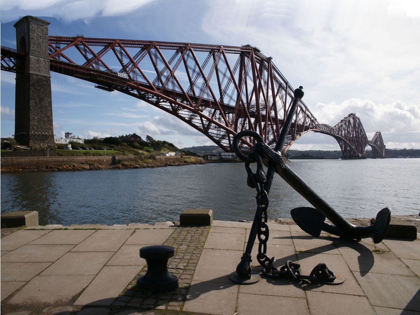 THE BRIDGE AND ANCHOR  by Jim Williams