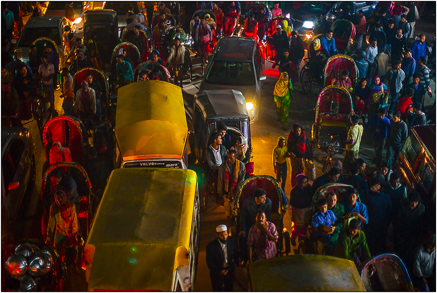 TRAFFIC IN DHAKA by Andy Smith.jpg