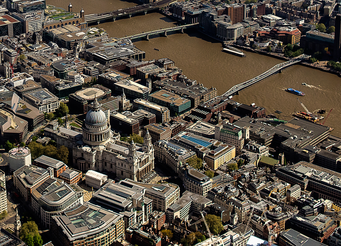 ST PAULS CATHEDRAL AND THE THAMES by Gary Scorgie.jpg