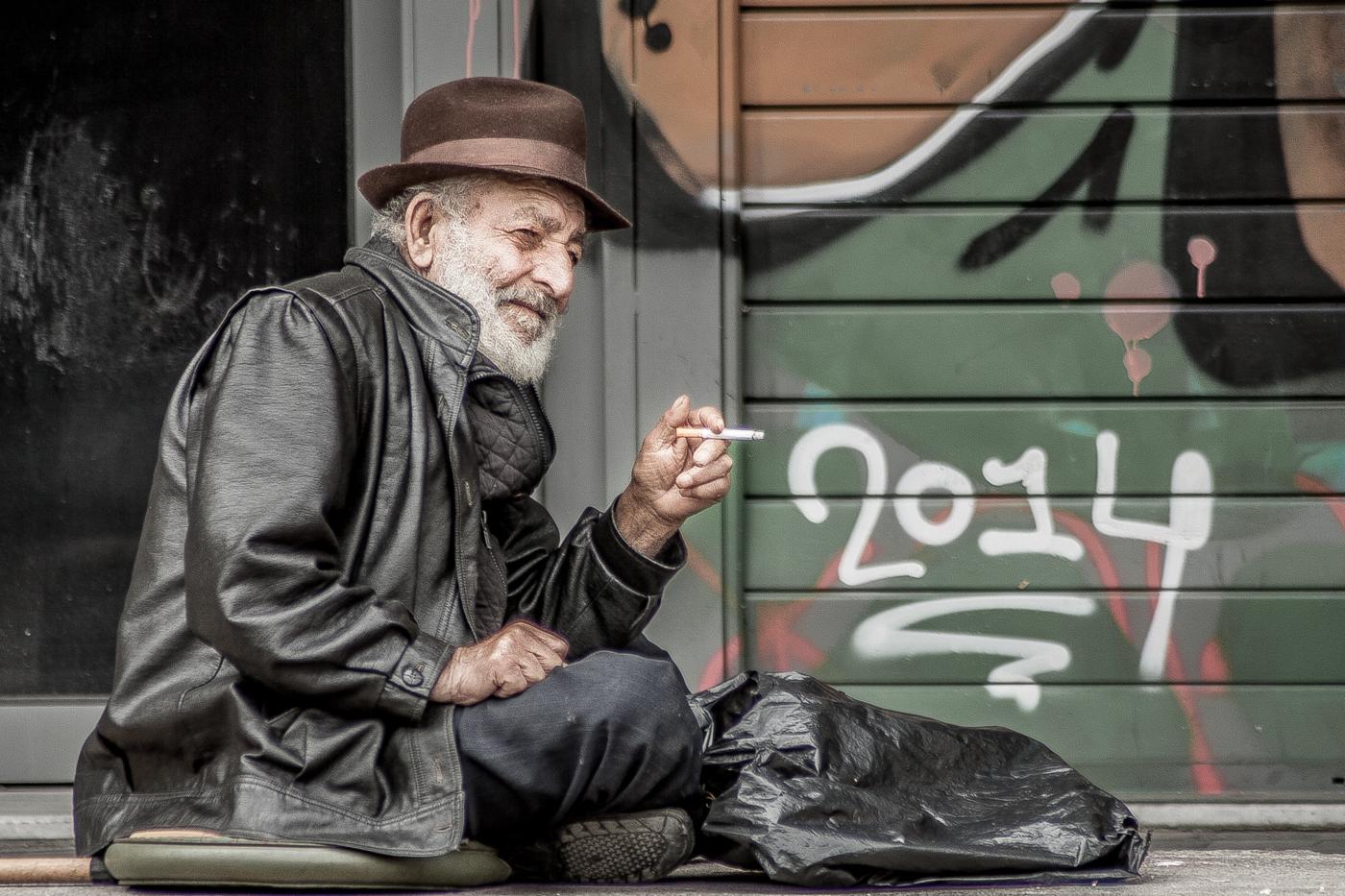 MAN ON STREET IN ATHENS by Kate Lowe.jpg