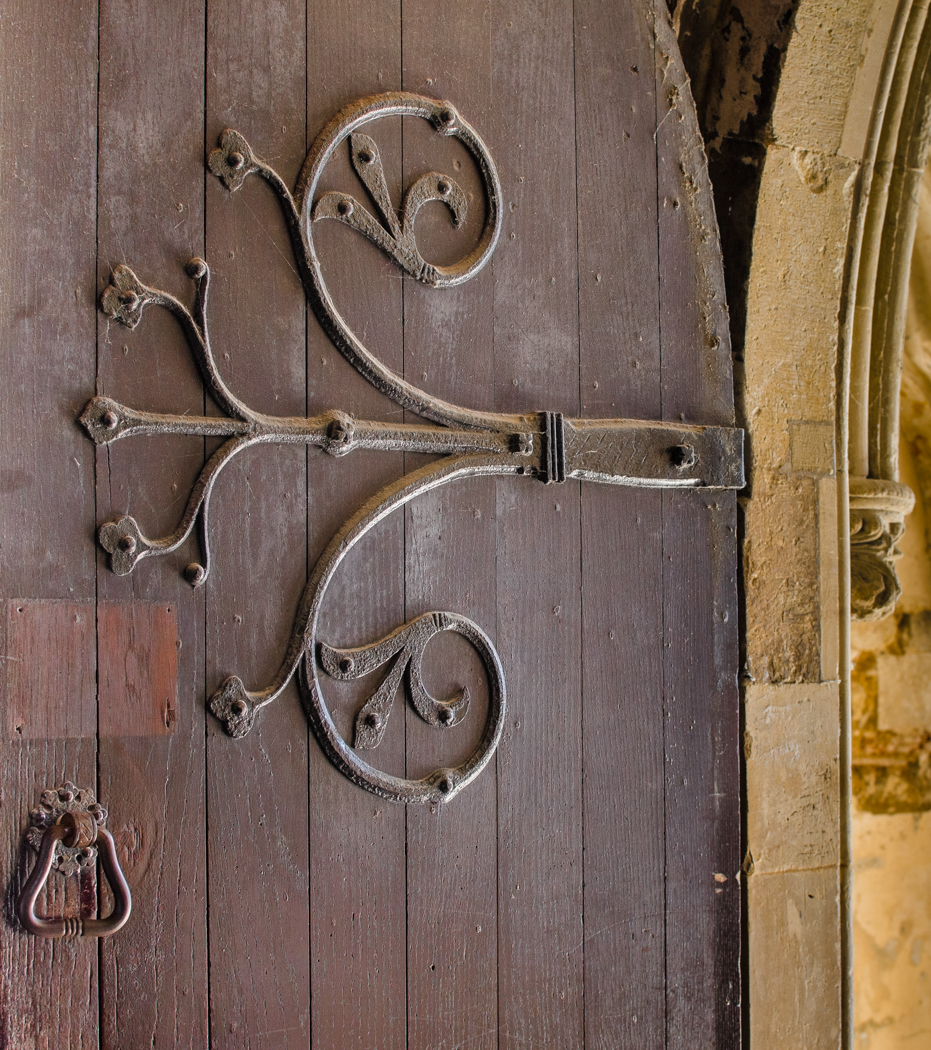 CHURCH DOOR by Rajesh Mehmi
