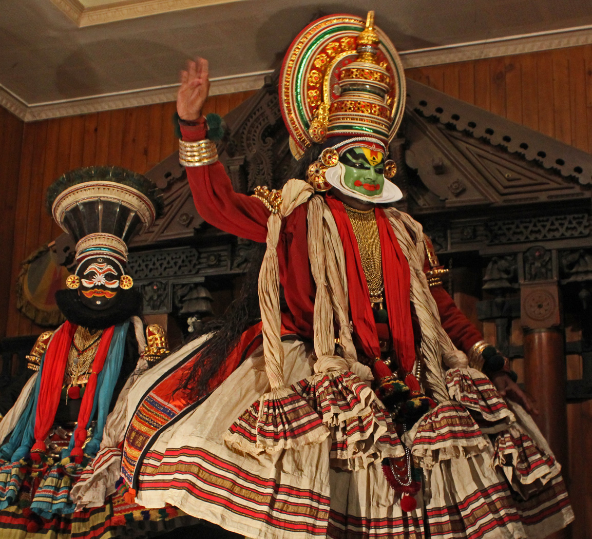 KATHAKALI THEATRE by Sue Avey