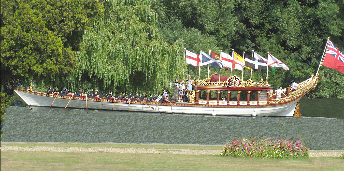 ROYAL BARGE ONE MONTH ON by Dave Taylor.jpg