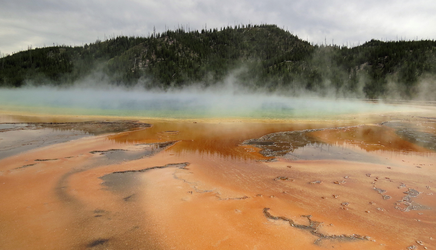 GRAND PRISMATIC SPRING by Sally Botwright