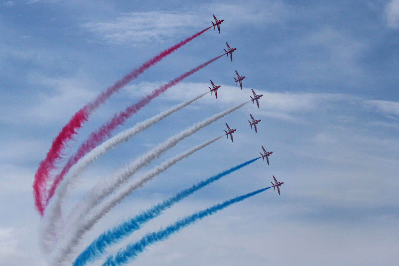 RED ARROWS by Don Dobson
