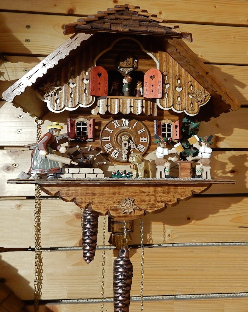 CUCKOO CLOCK by Bill Berloth