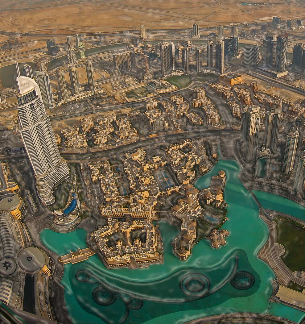 SAND WATER DUBAI by Harvey Whittam