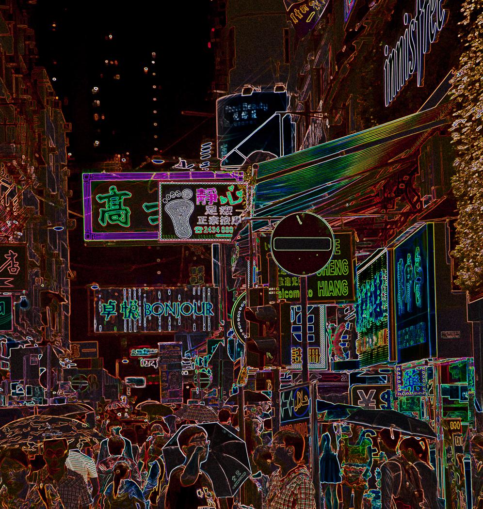 HONG KONG NIGHT SHOPPING by Harvey Whittam.jpg