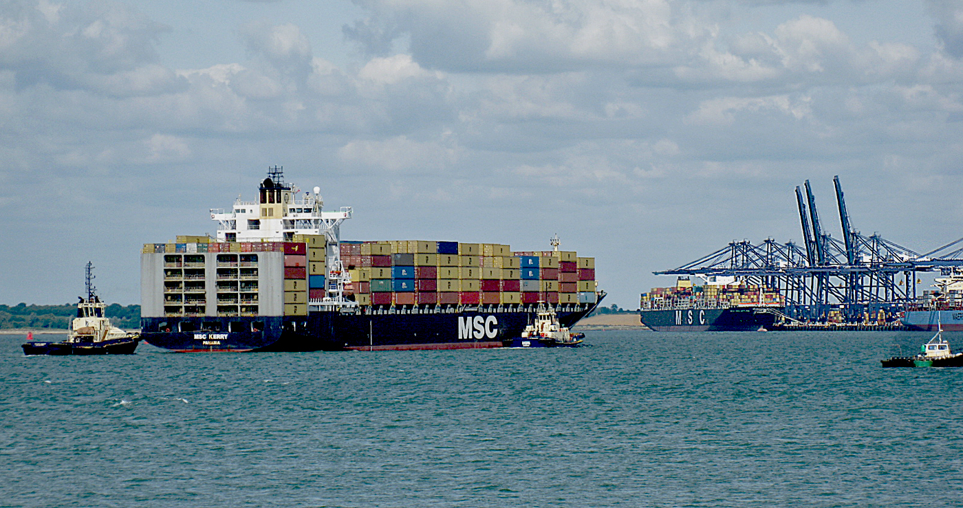 EXPORT IMPORT CONTAINERS by Dave Taylor.jpg