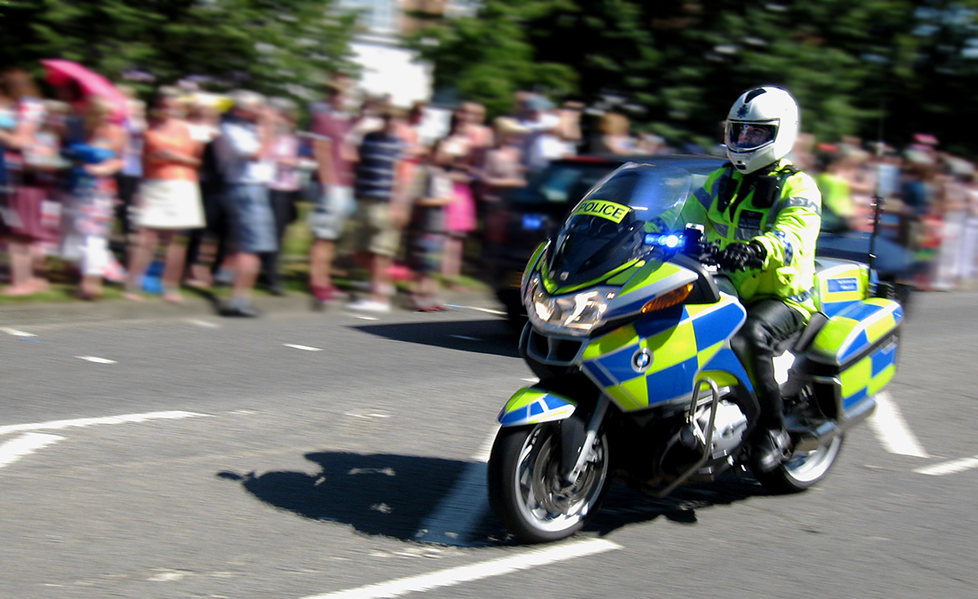 POLICE OUTRIDER by Dave Taylor