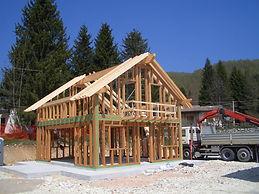 Le case prefabbricate che costruiamo.Questa è la base della vostra casa prefabbricata in legno