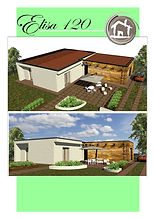 Un Esempio del costo di una Casa In Legno Prefabbricata a Telaio.