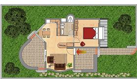 Casa in Legno dalle dimensioni Contenute prefabbricata  On Site