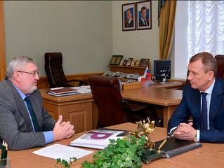 Брянский бизнес-омбудсмен доложил губернатору о результатах своей работы