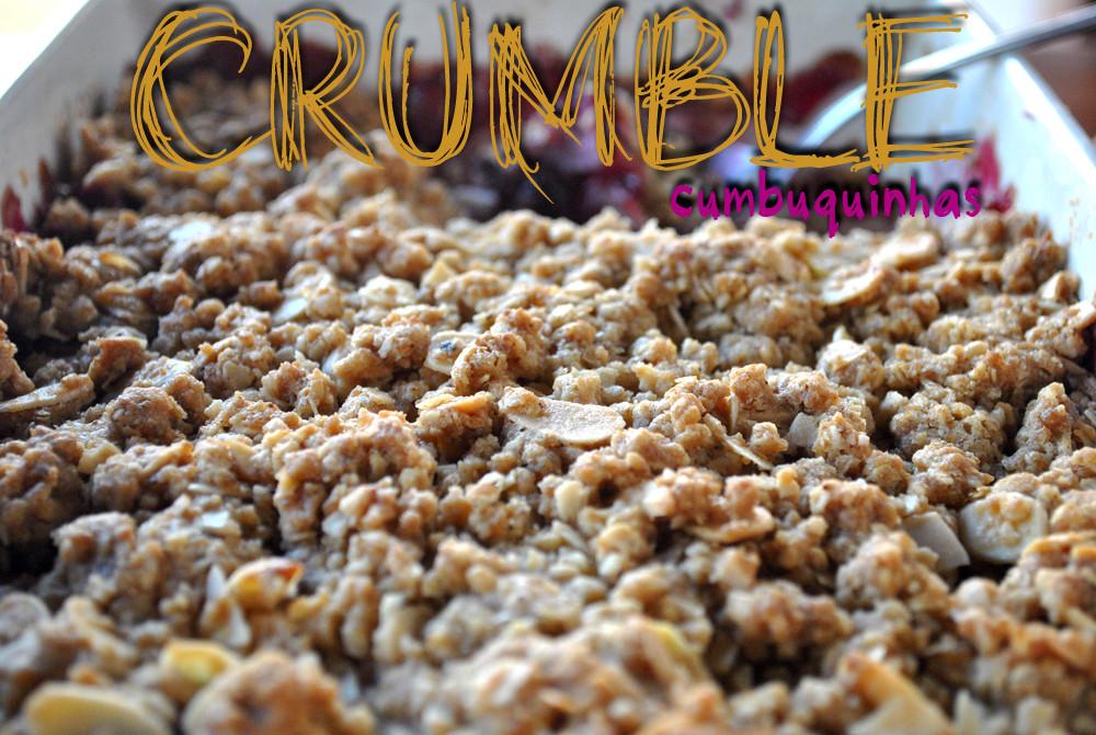 crumble cumbuquinhas