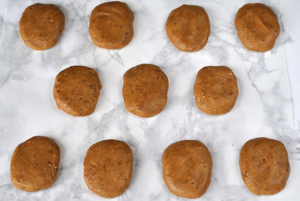 como preparar cookies natal