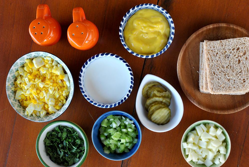 ingredientes pate de ovo