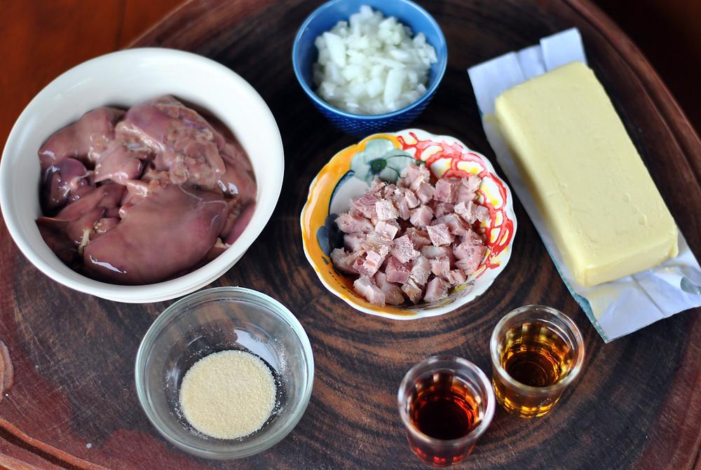 ingredientes pate de figado