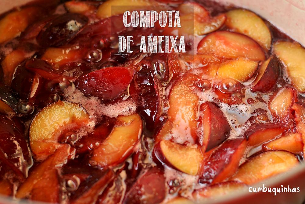 COMPOTA DE AMEIXA CUMBUQUINHAS