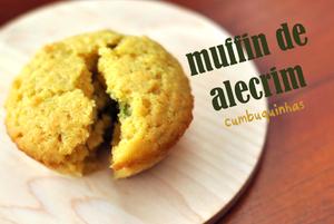 muffin de alecrim azeite de oliva cumbuquinhas
