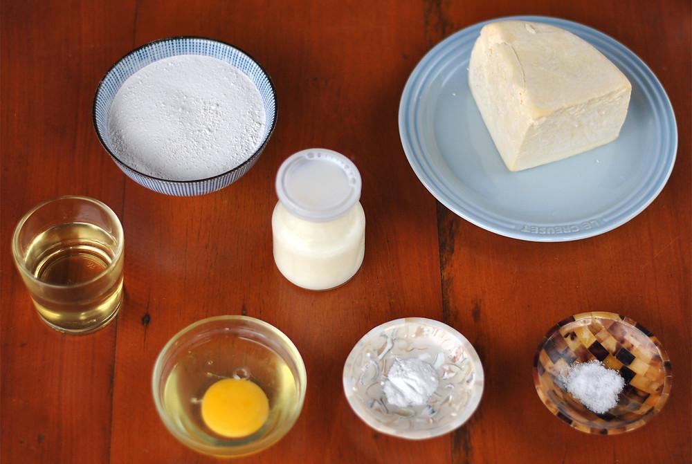 ingredientes preparar waffle