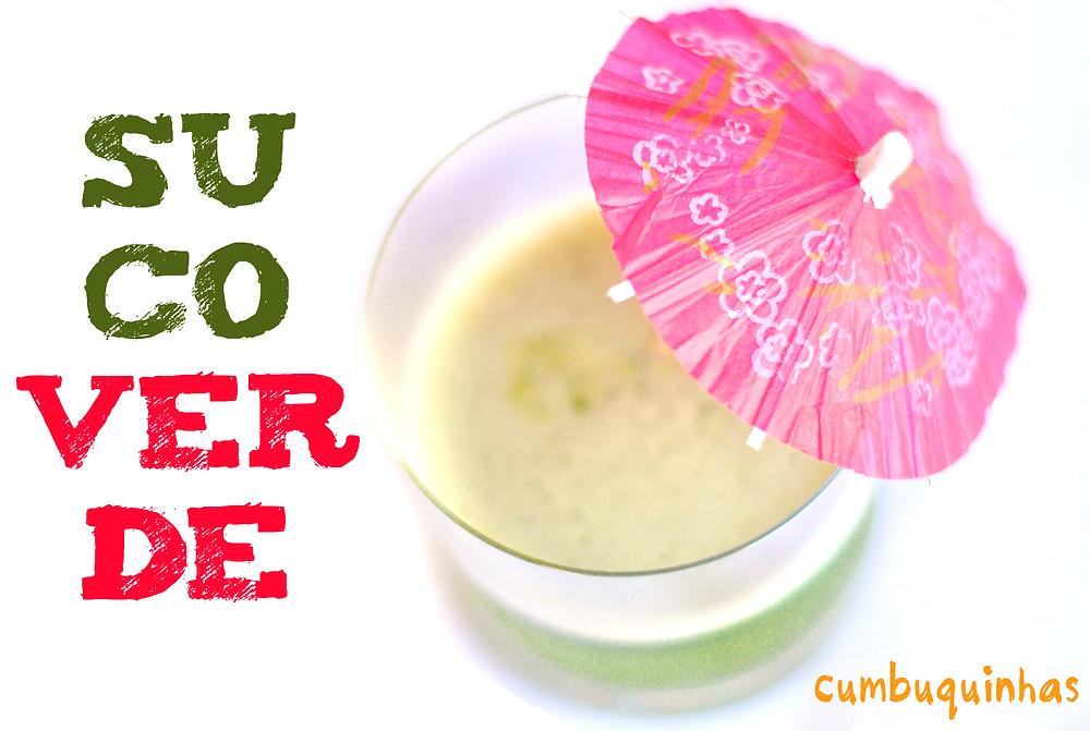 como preparar suco verde