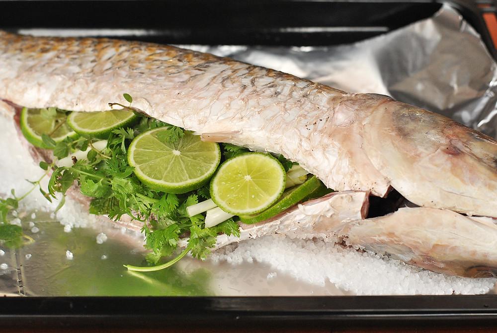 como temperar peixe assado cumbuquinhas
