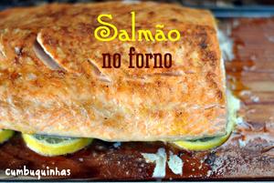salmao no forno com manteiga de limao siciliano