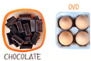 ingredientes mousse de chocolate