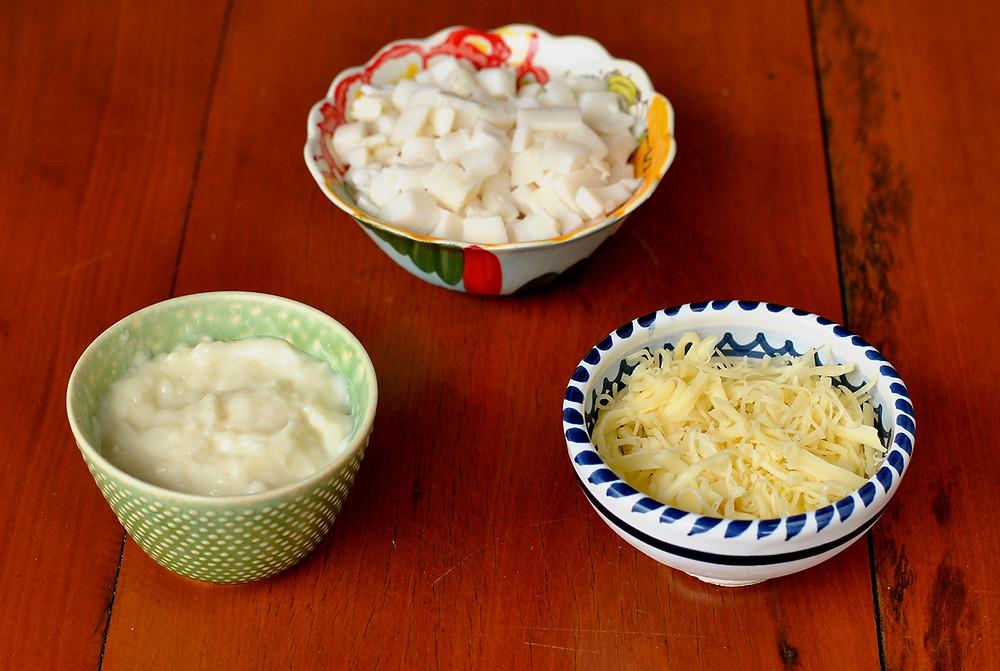 ingredientes crepe de palmito