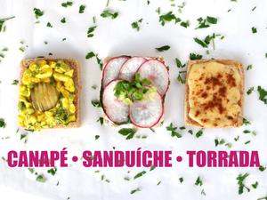canape sanduiche torrada