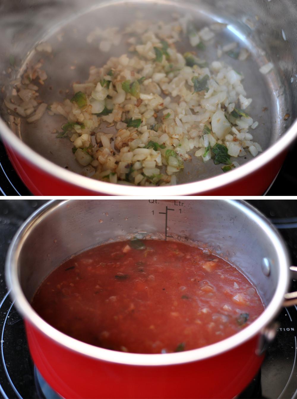 modo de preparo molho de tomates
