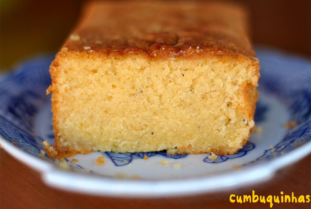 bolo de laranja e amendoas com semente de papoula receita
