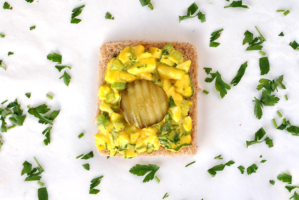 sanduiche de pate de ovo receita