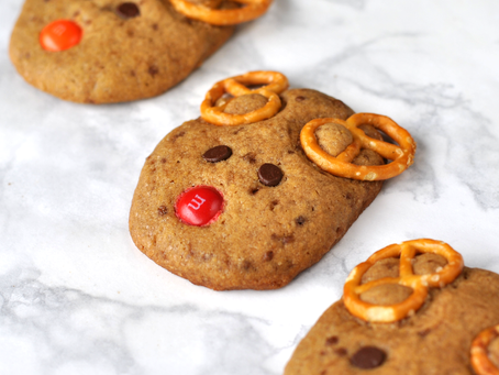 Cookies de Rena Cumbuquinhas