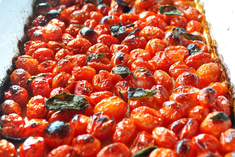 tomates assados forno