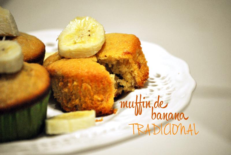 muffin de banana receita