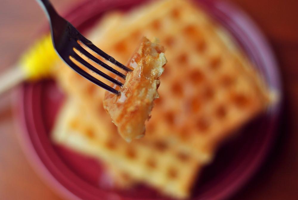 waffle pao de queijo cumbuquinhas