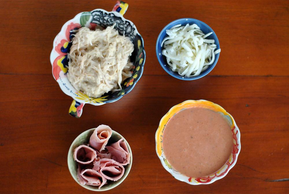 ingredientes rolinho misto cumbuquinhas