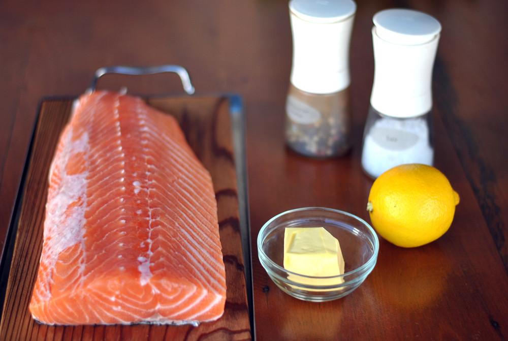 ingredientes para preparar salmao no forno