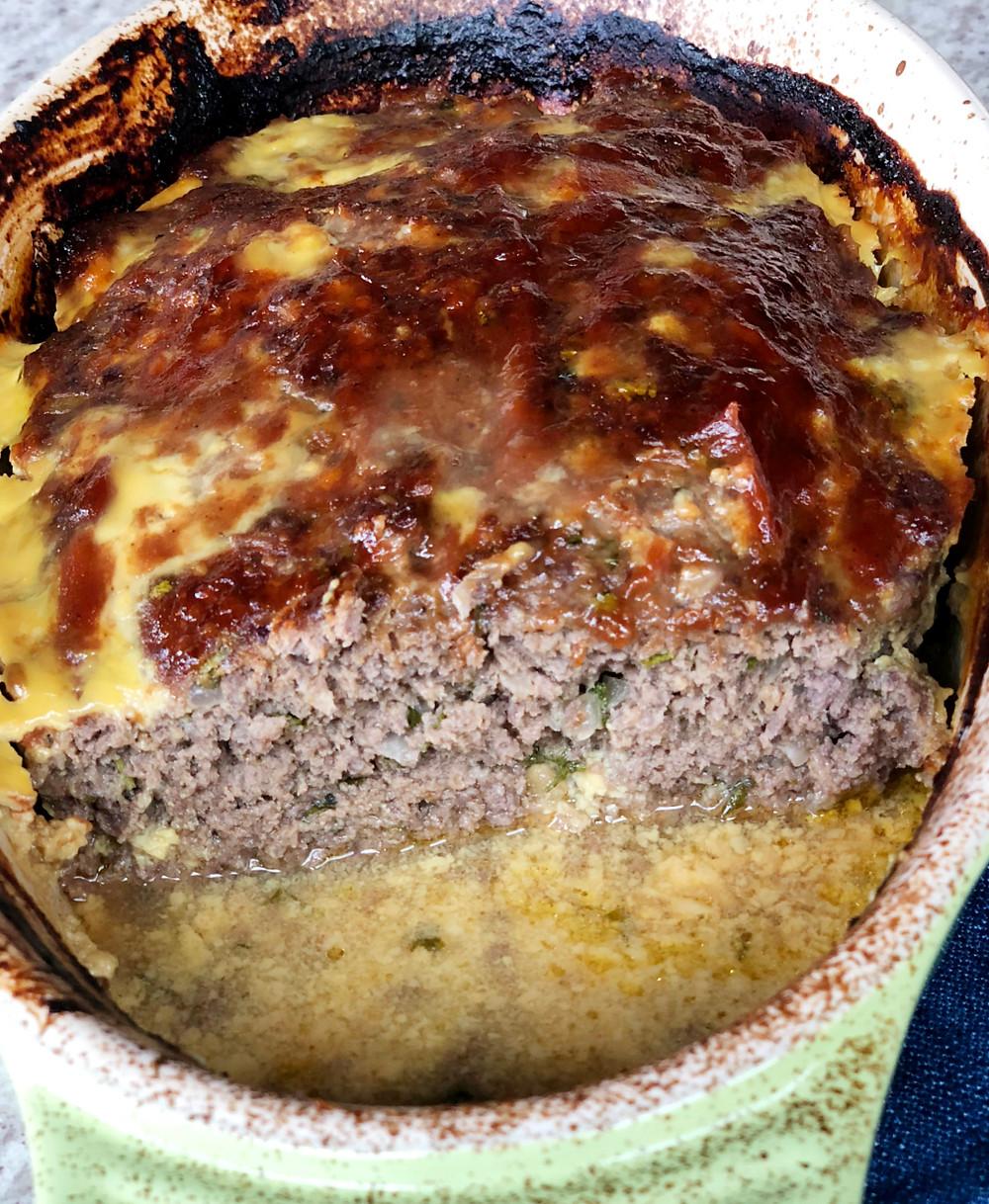 receita bolo de carne suculento