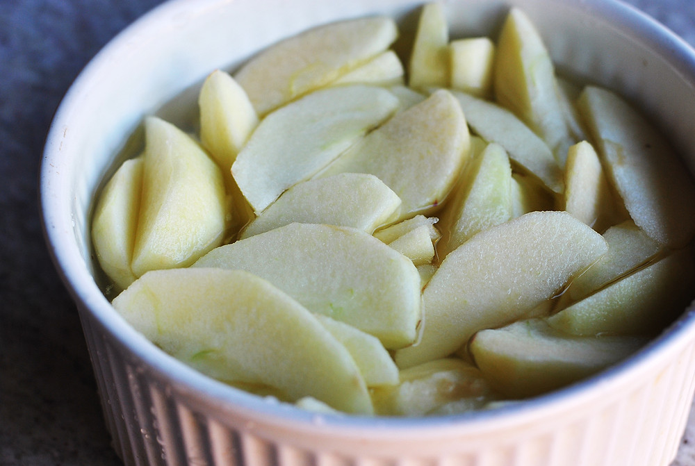 torta de maçã cumbuquinhas