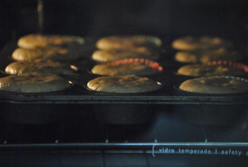como fazer muffin de banana