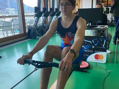 Gli Swiss Rowing Indoors 2021 esaltano i ragazzi di Paola Grizzetti e Davide Magni