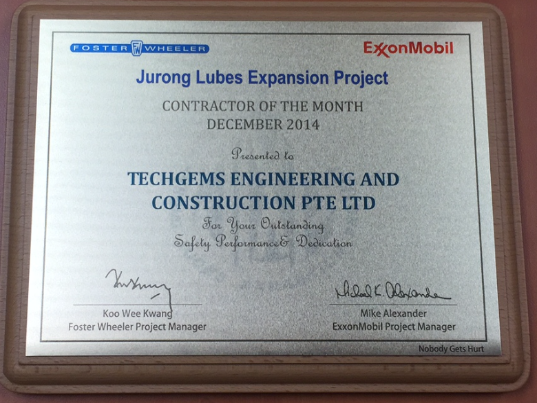 Jurong Lubes Expansion Project