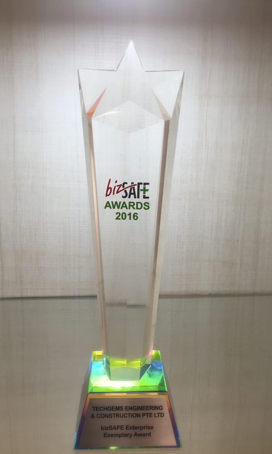 bizSAFE Awards 2016