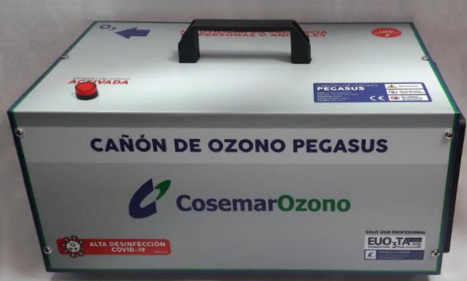 CAÑON OZONO PEGASUS 35Gr