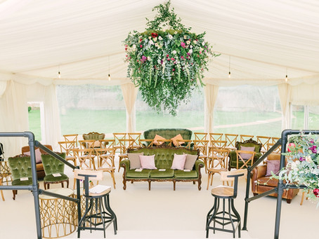 Flowers For A  Marquee Wedding – My Top Tips