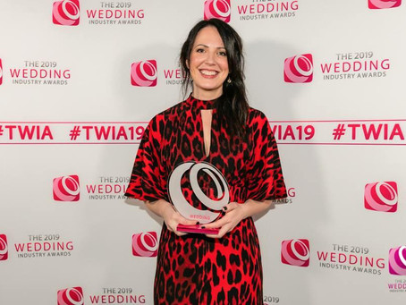 National Wedding Florist of the Year 2019