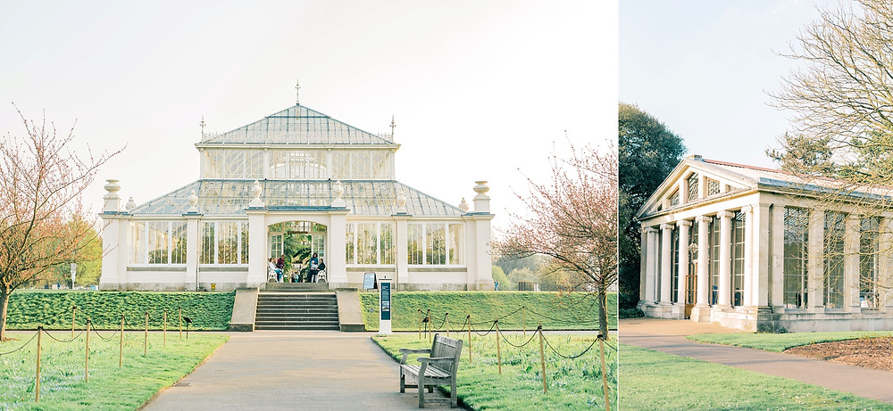 The Kew Garden Nash Conservatory seen from the outside